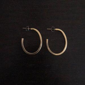 Vintage • Golden hoops
